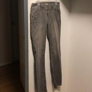 Grey Acid Washed CAbi Jeans